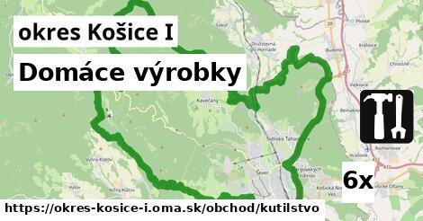 domáce výrobky v okres Košice I