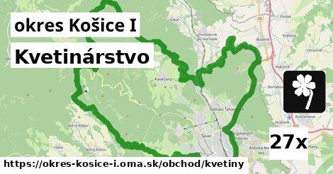 kvetinárstvo v okres Košice I