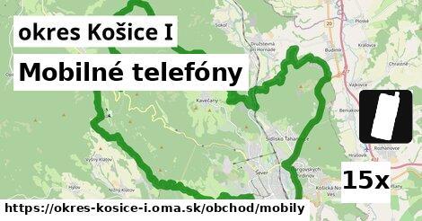 mobilné telefóny v okres Košice I