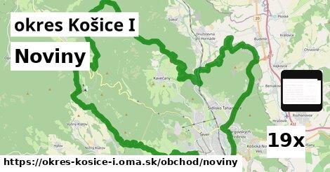 noviny v okres Košice I