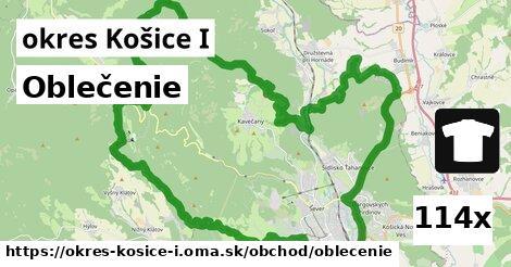 oblečenie v okres Košice I