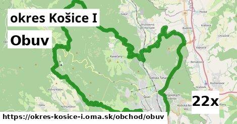 obuv v okres Košice I
