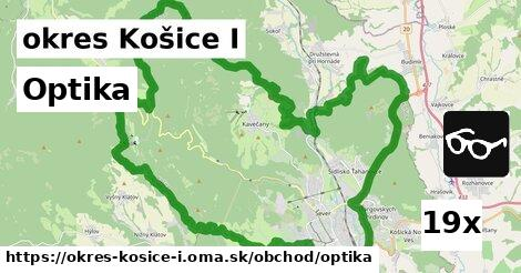 optika v okres Košice I
