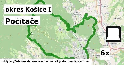 počítače v okres Košice I