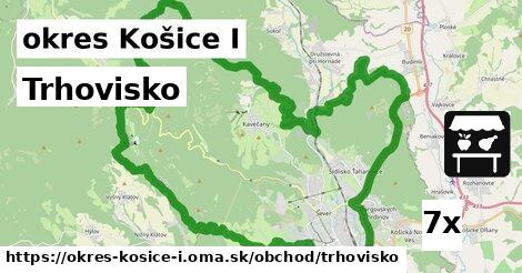 trhovisko v okres Košice I