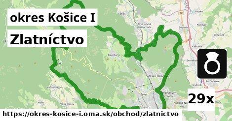 zlatníctvo v okres Košice I