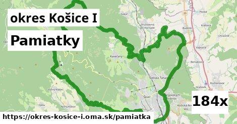 pamiatky v okres Košice I