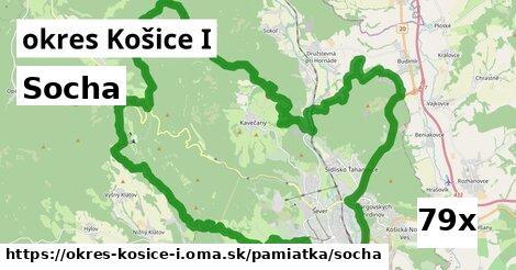 socha v okres Košice I