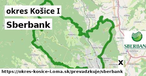 Sberbank v okres Košice I