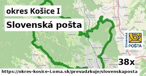 Slovenská pošta v okres Košice I