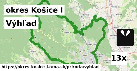 ilustračný obrázok k Výhľad, okres Košice I
