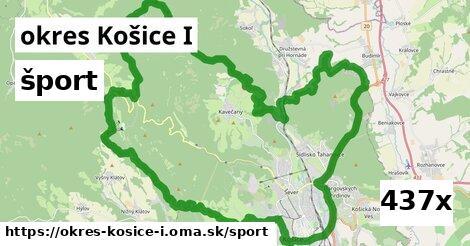 šport v okres Košice I