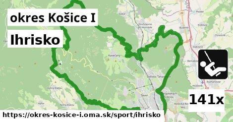 ihrisko v okres Košice I