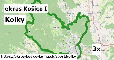 kolky v okres Košice I