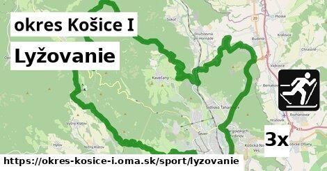 lyžovanie v okres Košice I