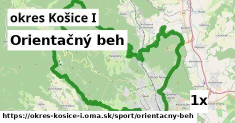 orientačný beh v okres Košice I