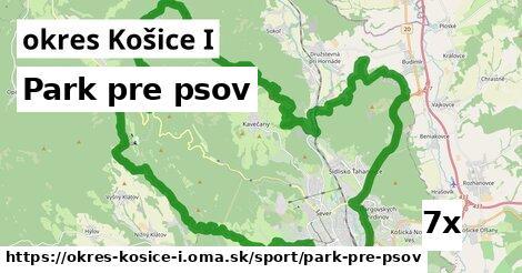 park pre psov v okres Košice I