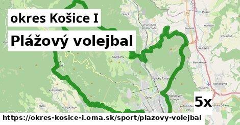plážový volejbal v okres Košice I