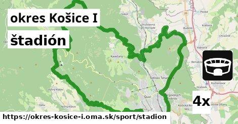 štadión v okres Košice I
