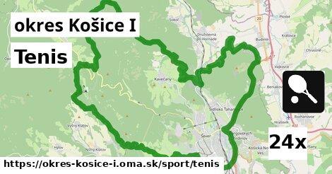 tenis v okres Košice I