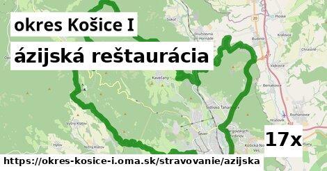 ázijská reštaurácia v okres Košice I
