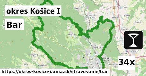 bar v okres Košice I