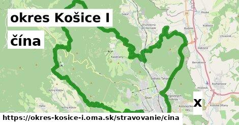 ilustračný obrázok k čína, okres Košice I