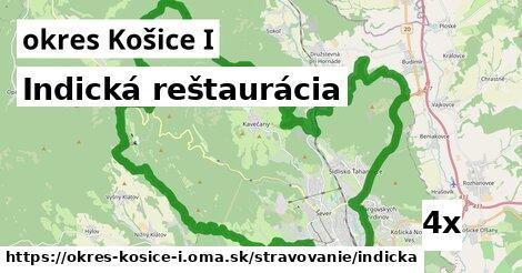 indická reštaurácia v okres Košice I