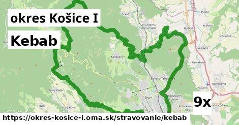 kebab v okres Košice I