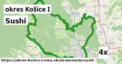 ilustračný obrázok k Sushi, okres Košice I