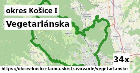 vegetariánska v okres Košice I