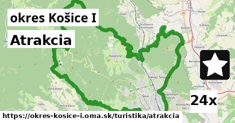 atrakcia v okres Košice I
