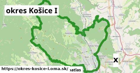 strom v okres Košice I