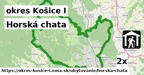 horská chata v okres Košice I