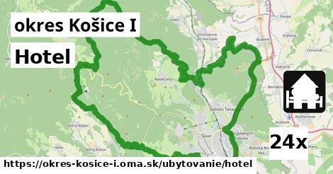 hotel v okres Košice I