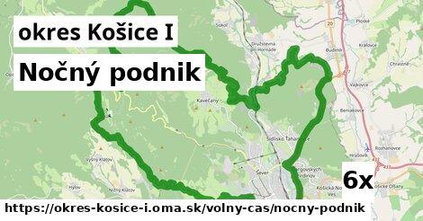 nočný podnik v okres Košice I