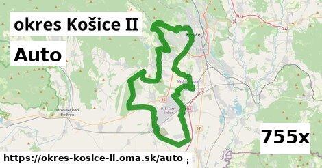 auto v okres Košice II