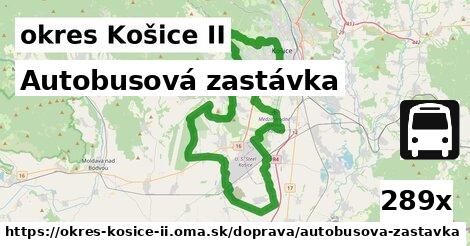 ilustračný obrázok k Autobusová zastávka, okres Košice II