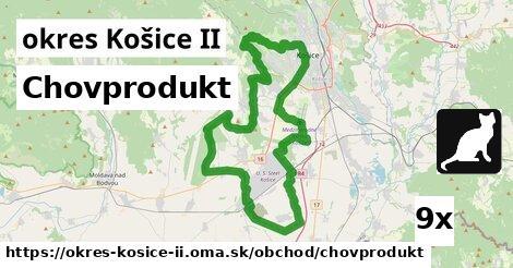 chovprodukt v okres Košice II