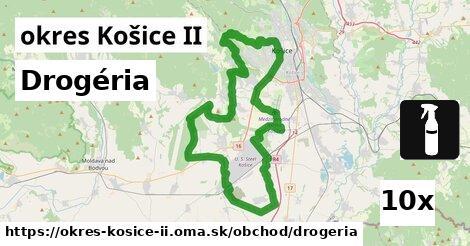 drogéria v okres Košice II