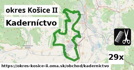 kaderníctvo v okres Košice II