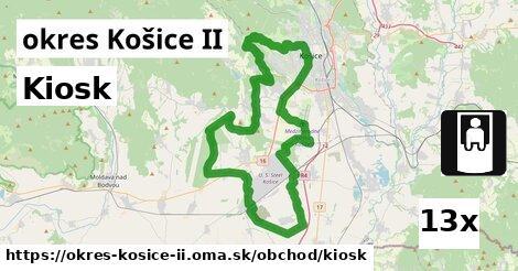 kiosk v okres Košice II