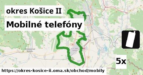 mobilné telefóny v okres Košice II