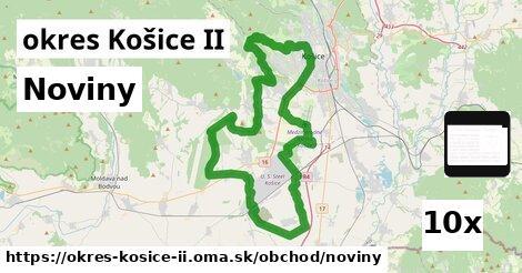 noviny v okres Košice II