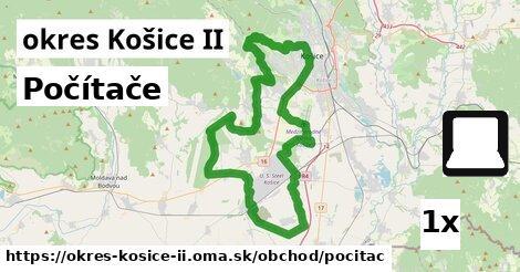 počítače v okres Košice II