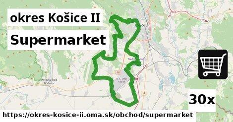 supermarket v okres Košice II