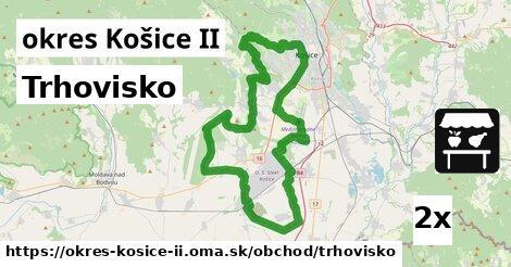 trhovisko v okres Košice II