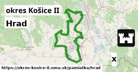 hrad v okres Košice II
