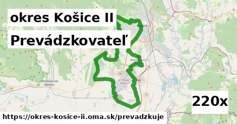 prevádzkovateľ v okres Košice II