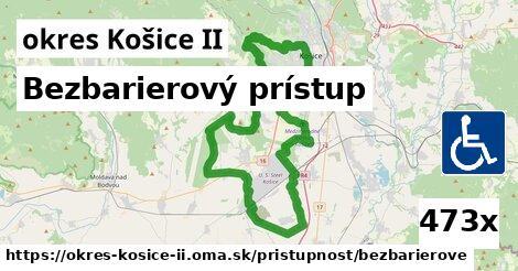 ilustračný obrázok k Bezbarierový prístup, okres Košice II